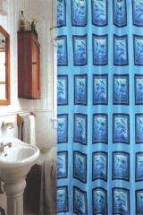 Шторки для ванной комнаты полиэстер