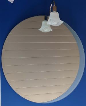 Зеркало интерьерное с подсветкой  60см ( можно  для ванной комнаты)