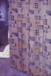 Шторка - занавеска для ванной тканевая полиэстер -031