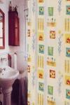Шторка - занавеска для ванной тканевая полиэстер  Ps-037