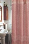 Шторка - занавеска для ванной тканевая полиэстер  Ps-183