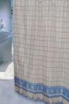 Шторка - занавеска для ванной тканевая полиэстер  Ps-040