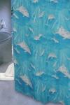 Шторка - занавеска для ванной тканевая полиэстер  Ps-127