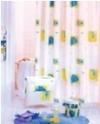 Шторка - занавеска для ванной тканевая полиэстер  Ps-149